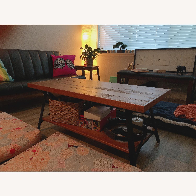 Cruz Coffee Table with Storage - image-1