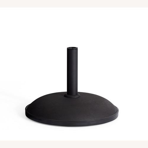 Used Pottery Barn Concrete Umbrella Base, 66 lbs. for sale on AptDeco