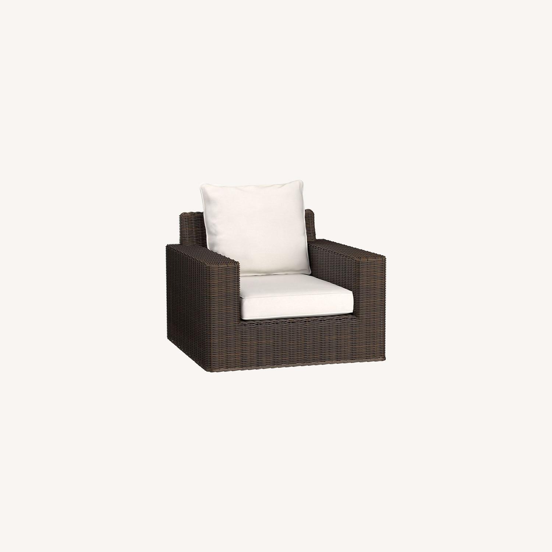 Pottery Barn Torrey Swivel Lounge Chair - image-0