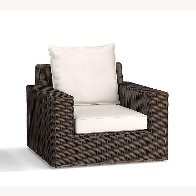 Pottery Barn Torrey Swivel Lounge Chair - image-1