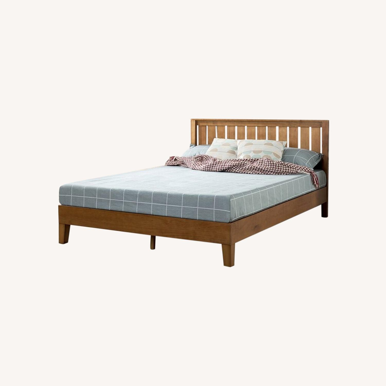 Morgan Hill Platform Bed (Full size) - image-0