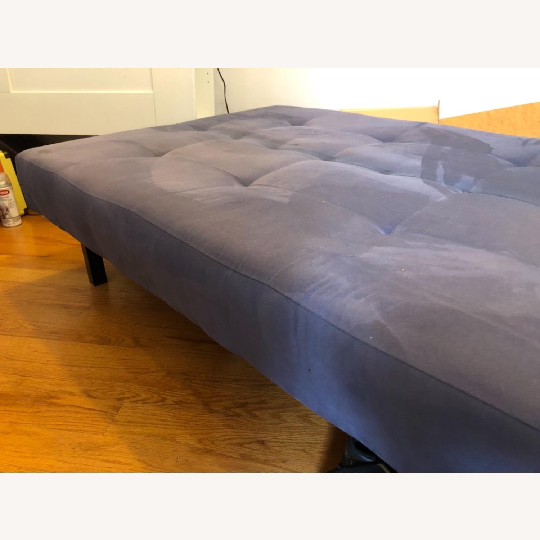 IKEA Balkarp Blue Sleeper Sofa - image-2