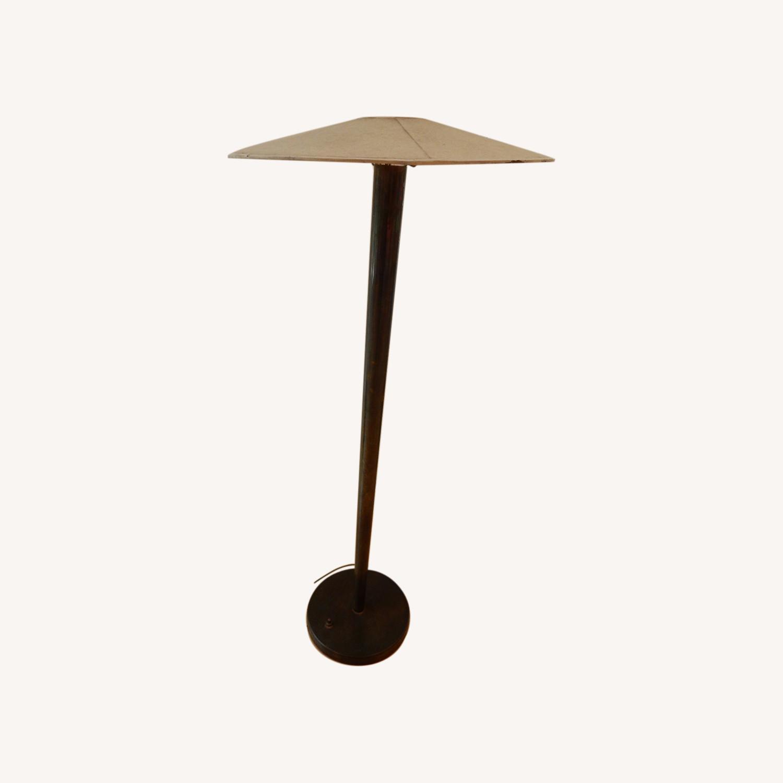 High Design Midcentury Brass Floor Lamp - image-0