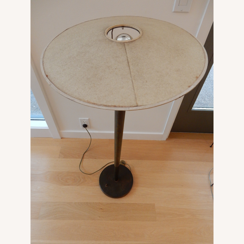 High Design Midcentury Brass Floor Lamp - image-2