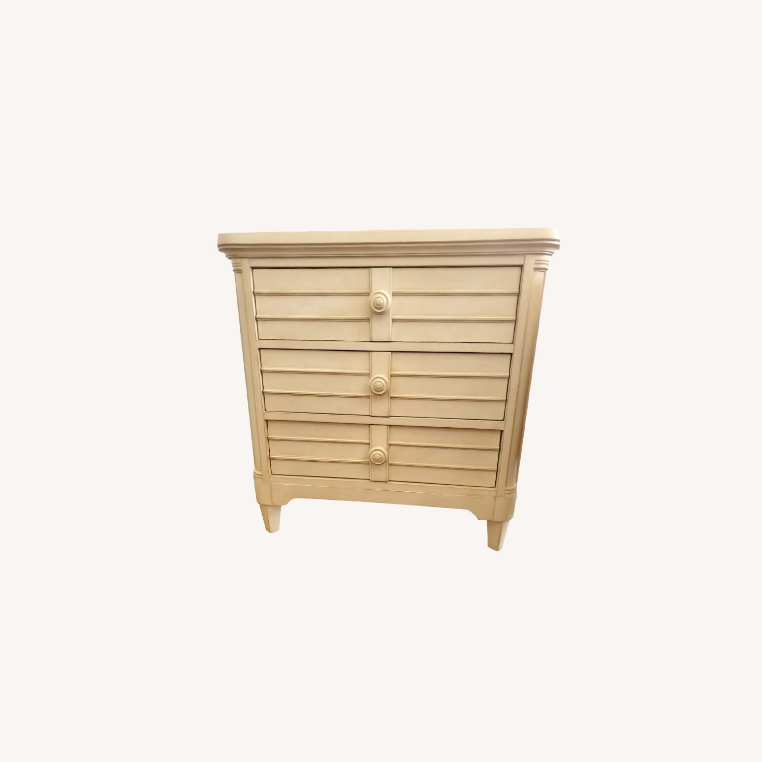 Stanley Sommerset Ivory 3 Drawer Nightstands - image-0