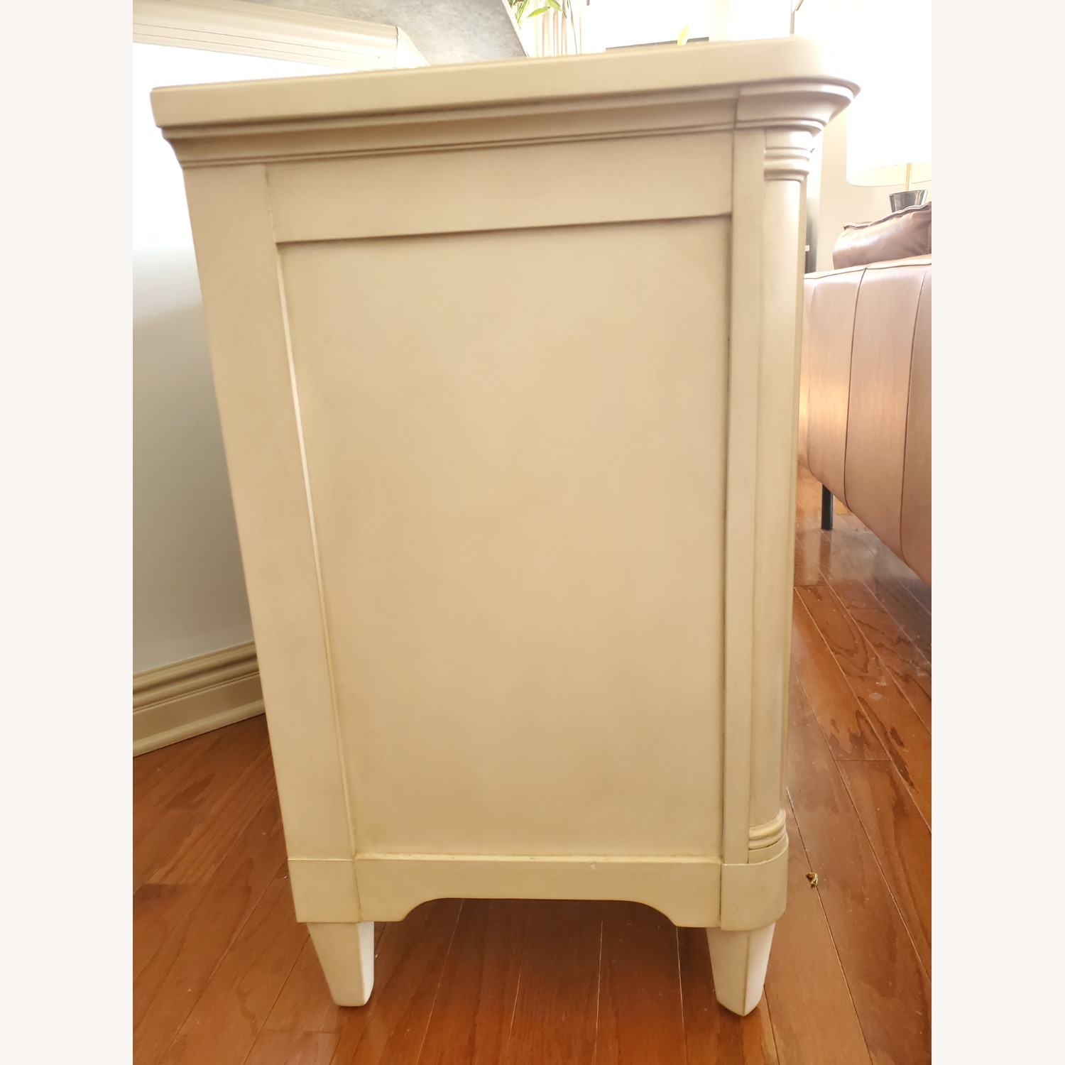 Stanley Sommerset Ivory 3 Drawer Nightstands - image-2
