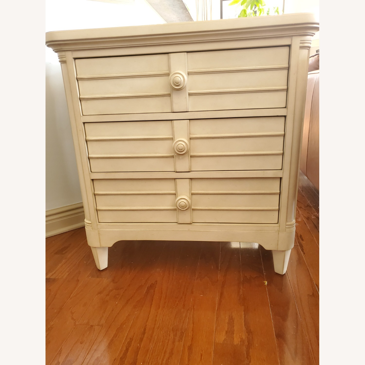 Stanley Sommerset Ivory 3 Drawer Nightstands - image-3