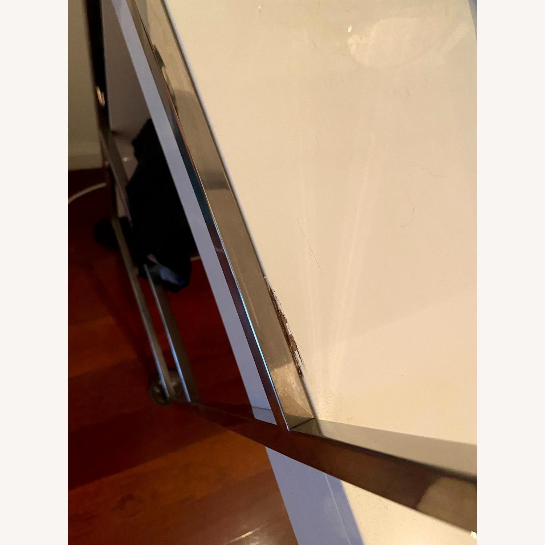 """West Elm Lacquer Storage 49"""" Desk - image-3"""