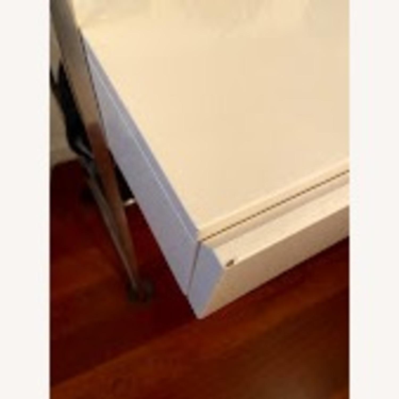 """West Elm Lacquer Storage 49"""" Desk - image-4"""
