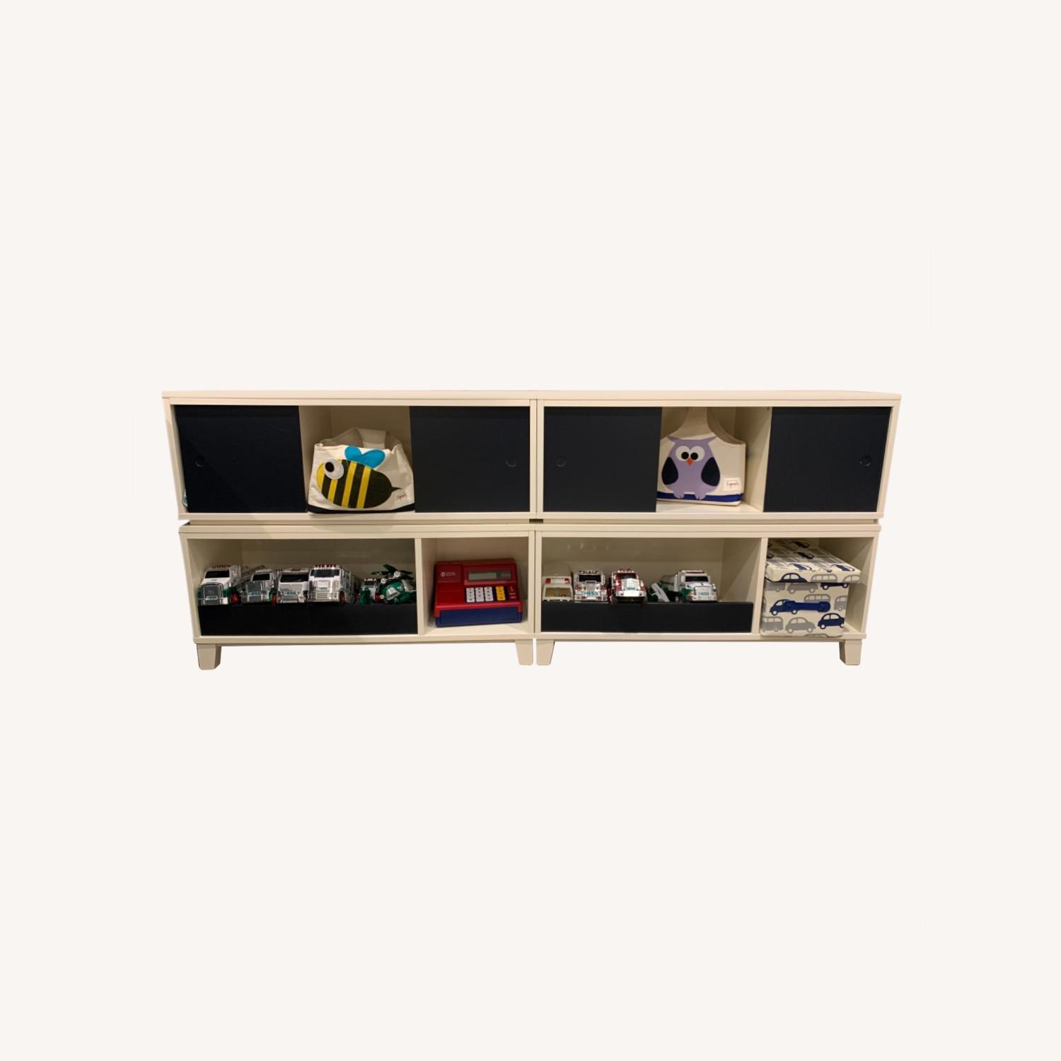 Crate and Barrel District Stackable Bookshelf - image-0