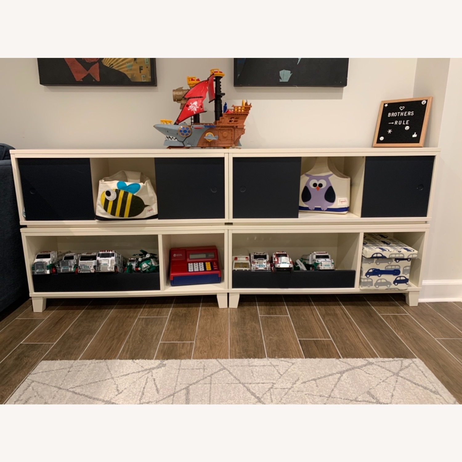 Crate and Barrel District Stackable Bookshelf - image-1