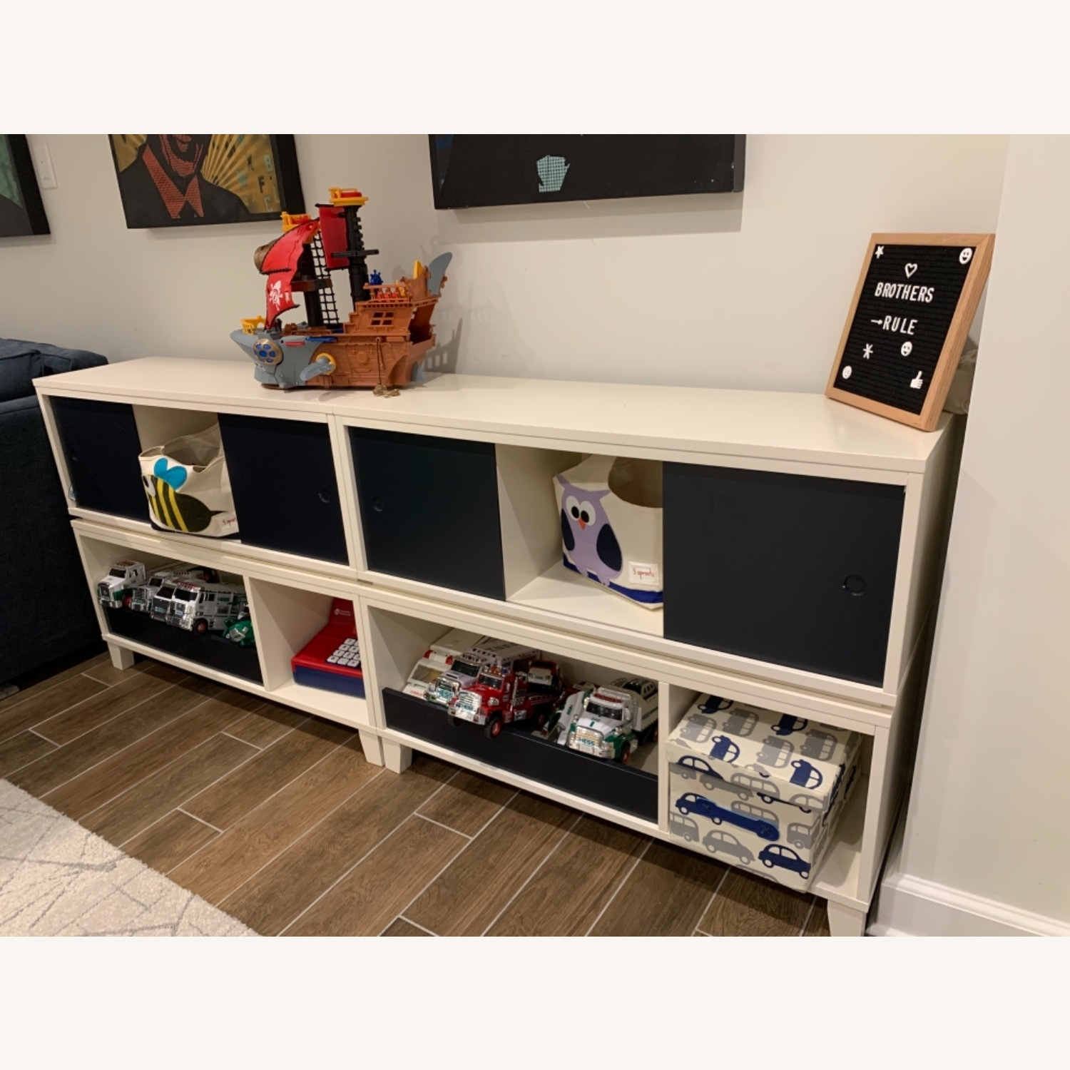 Crate and Barrel District Stackable Bookshelf - image-3