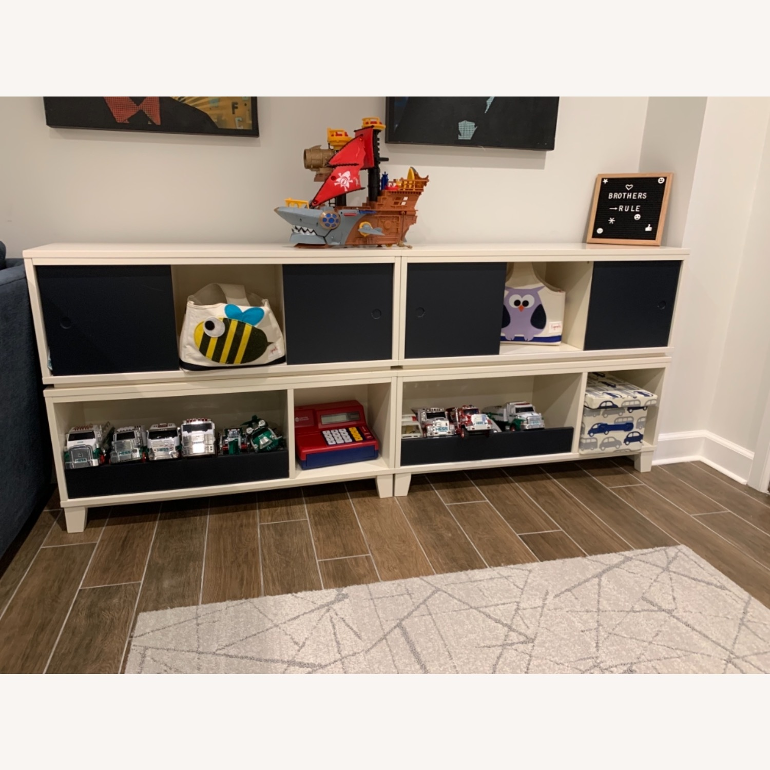 Crate and Barrel District Stackable Bookshelf - image-2