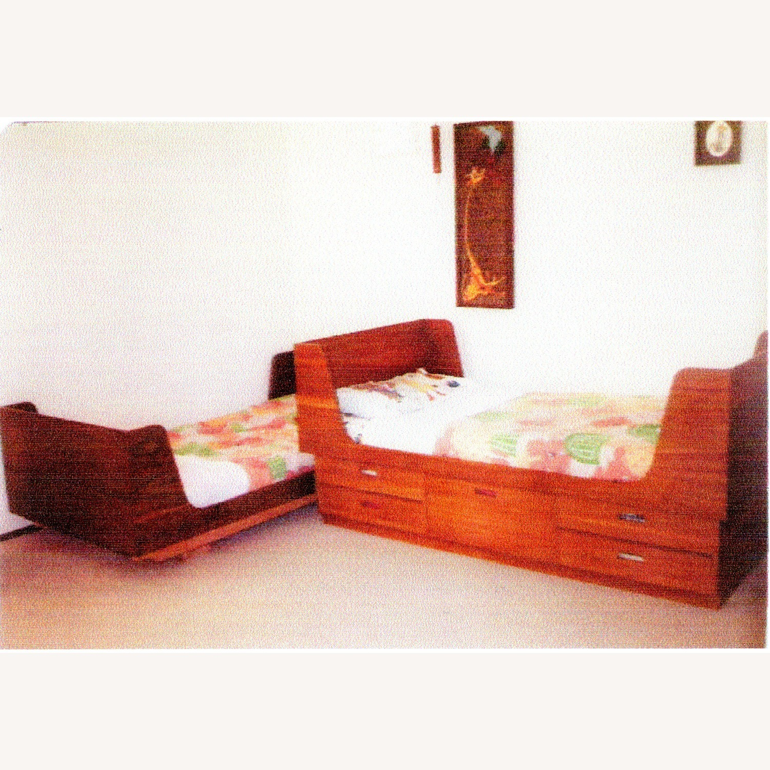 Bed Twin with 5 Storage Drawers - image-2