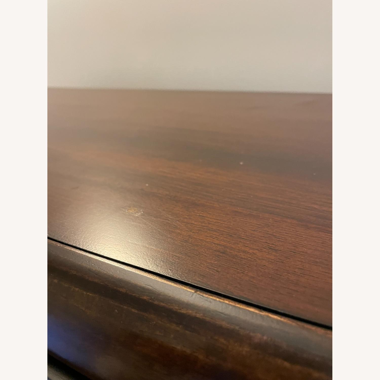 Raymour & Flanigan Mahogany Tall Dresser - image-3