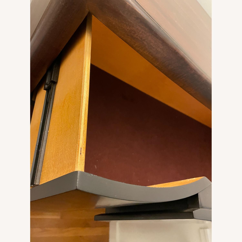 Raymour & Flanigan Mahogany Tall Dresser - image-5