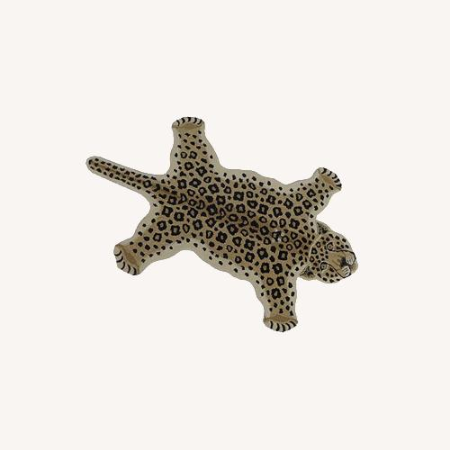 Used Leopard Rug for sale on AptDeco