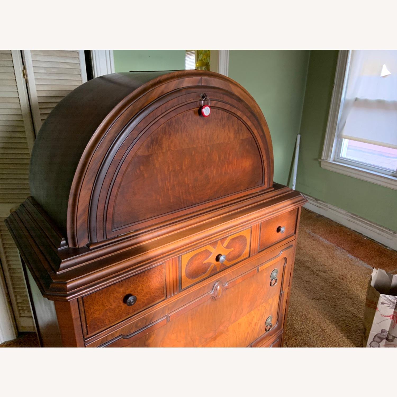 Antique Dresser Art Deco / Jacobean Highboy - image-2