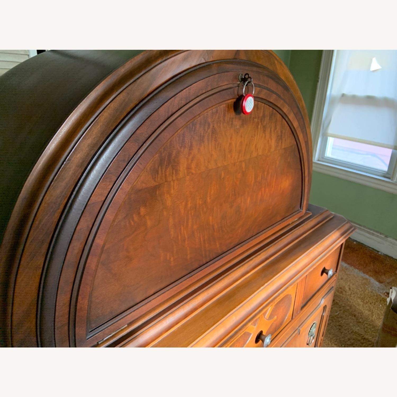 Antique Dresser Art Deco / Jacobean Highboy - image-3