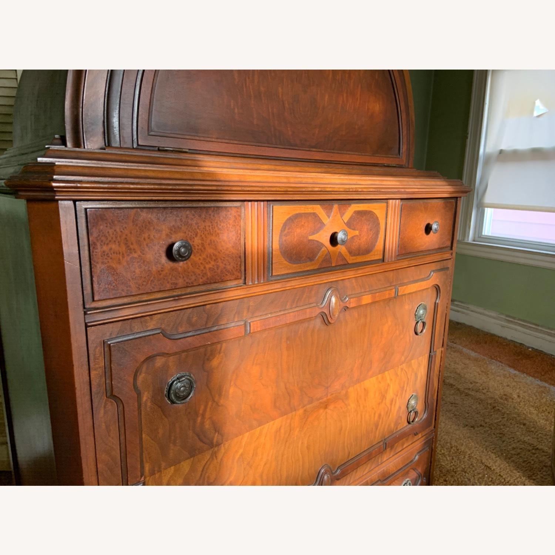 Antique Dresser Art Deco / Jacobean Highboy - image-4