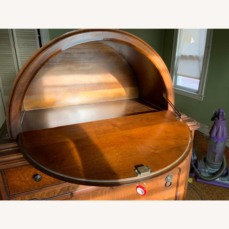 Antique Dresser Art Deco / Jacobean Highboy - image-9