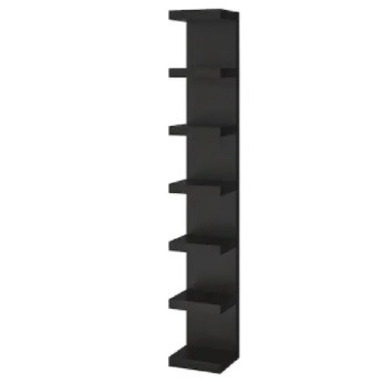 Black IKEA Lack Shelves - image-4