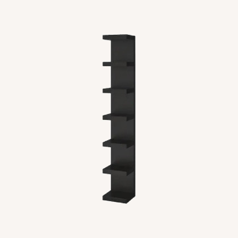 Black IKEA Lack Shelves - image-0