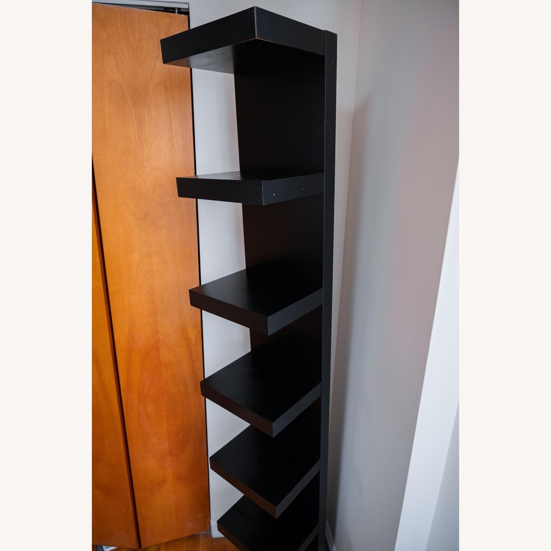 Black IKEA Lack Shelves - image-3