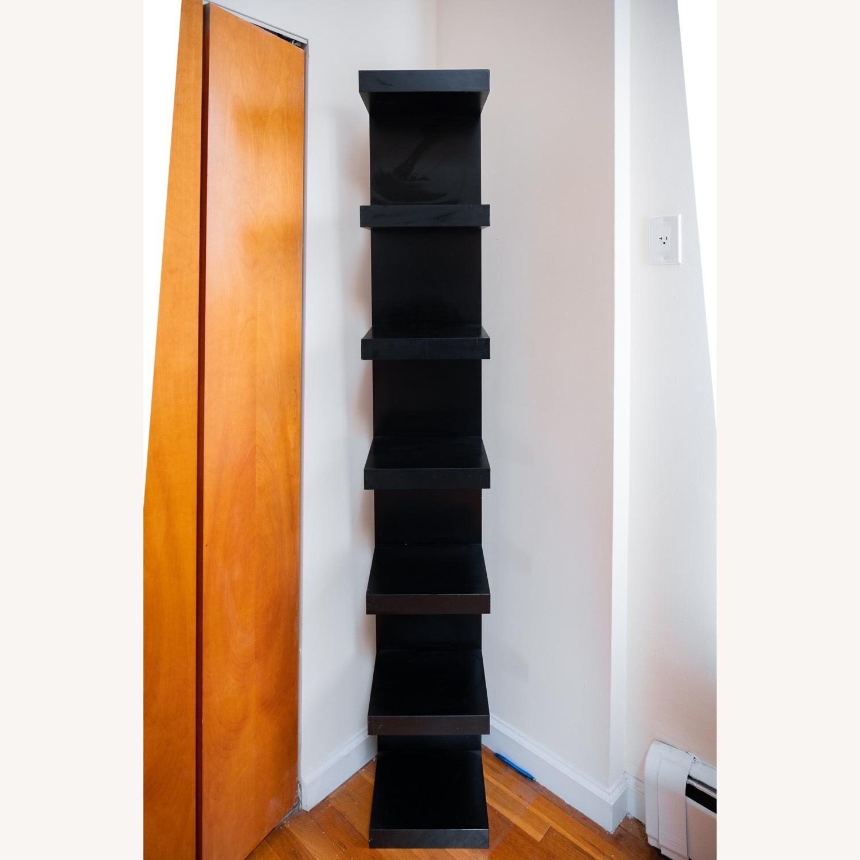 Black IKEA Lack Shelves - image-2