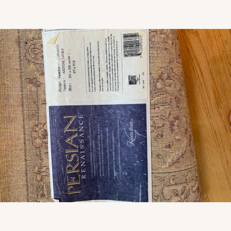 Area Rug Persian Wool and Silk Keristan - image-3