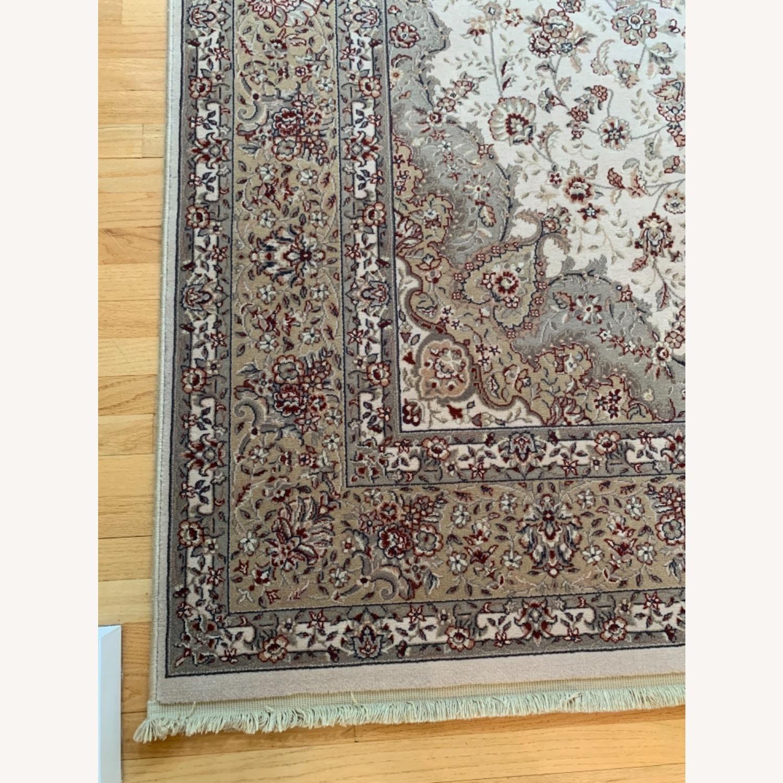 Area Rug Persian Wool and Silk Keristan - image-2
