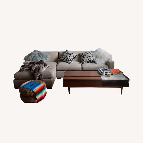 Used Lillian August Sectional for sale on AptDeco