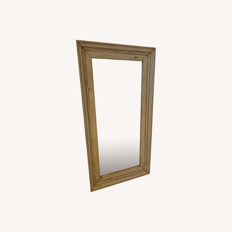 Custom Farmhouse Standing Floor Mirror - image-0