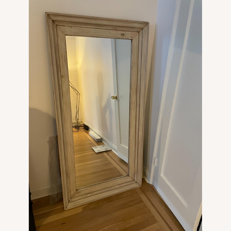 Custom Farmhouse Standing Floor Mirror - image-1