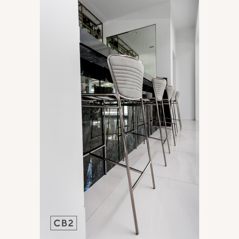 CB2 Jude Grey Bar Stool - image-3