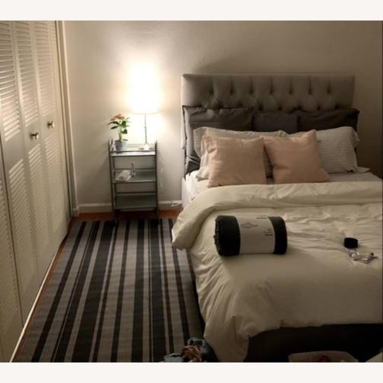 Velvet Queen Bed Frame - image-2