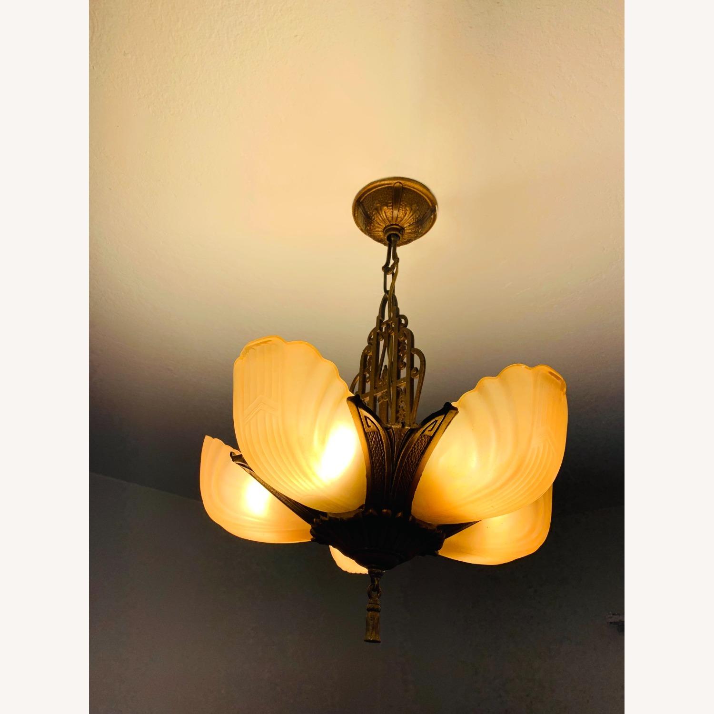 Art Deco Ceiling Light - image-3