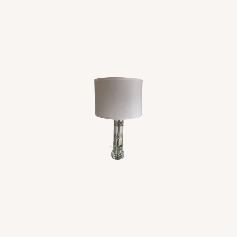 Ralph Lauren Acrylic Table Lamp - image-0
