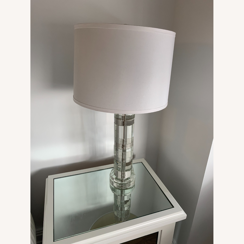 Ralph Lauren Acrylic Table Lamp - image-1