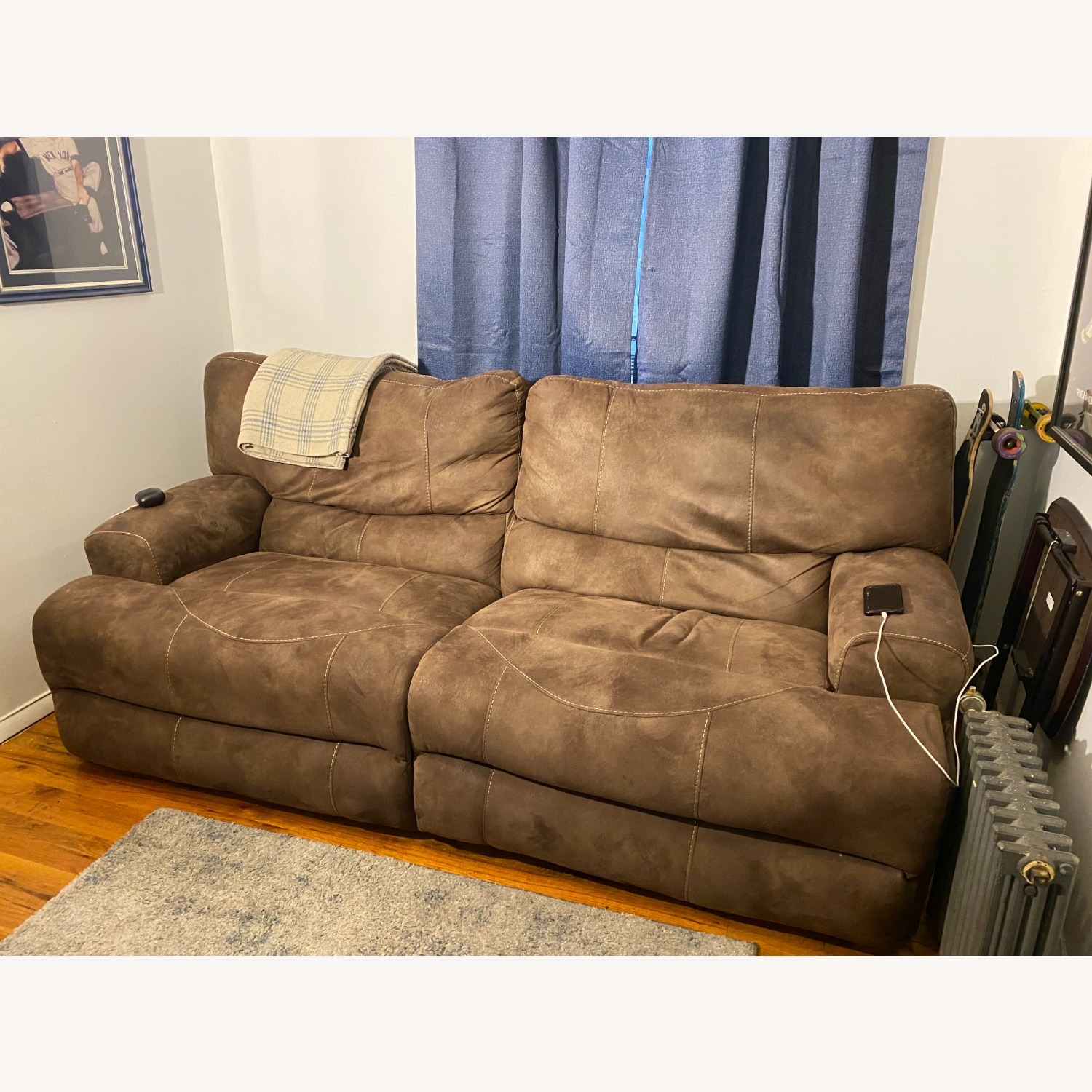 Reclining Leather 2 pc. Sectional - image-1