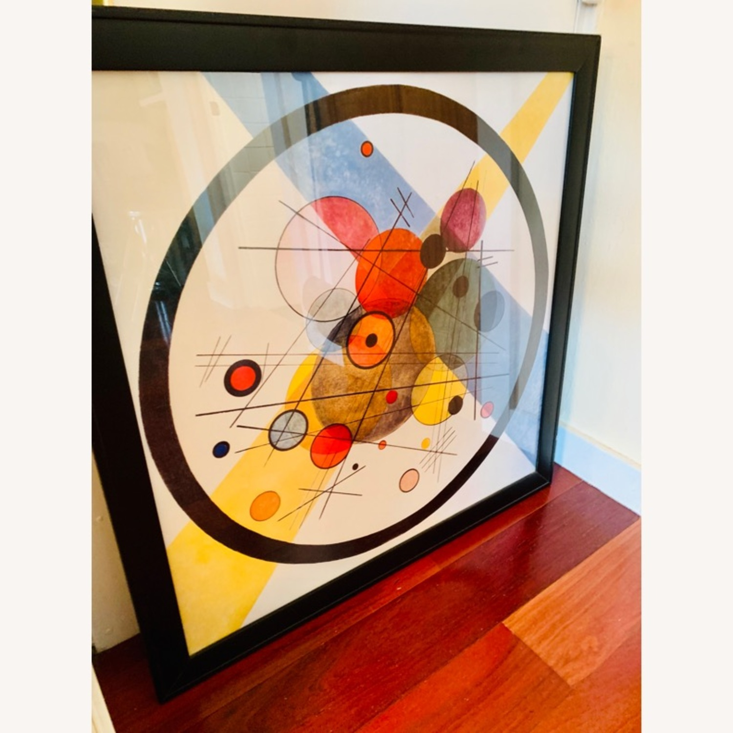 Framed Abstract Wall Art - image-2