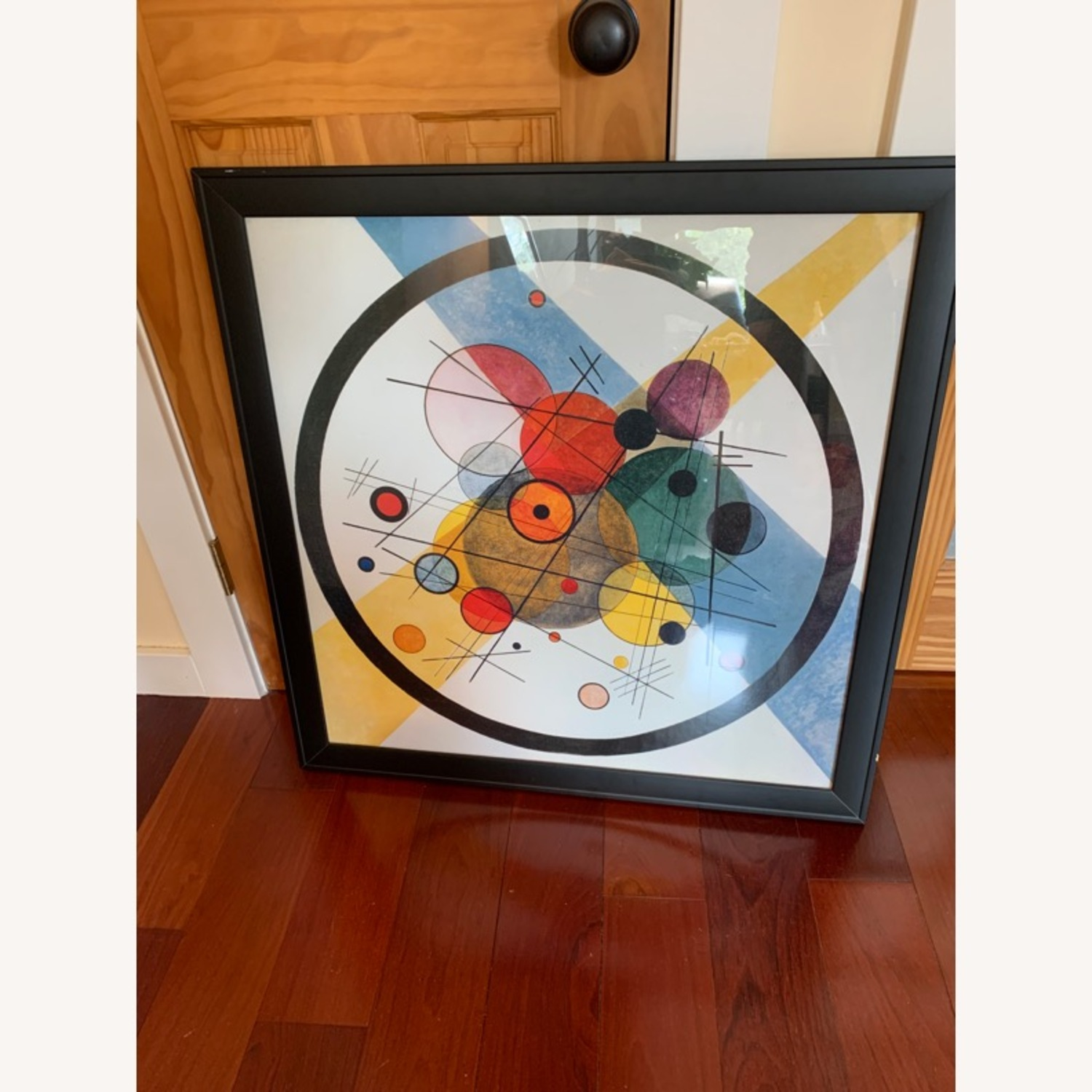 Framed Abstract Wall Art - image-1