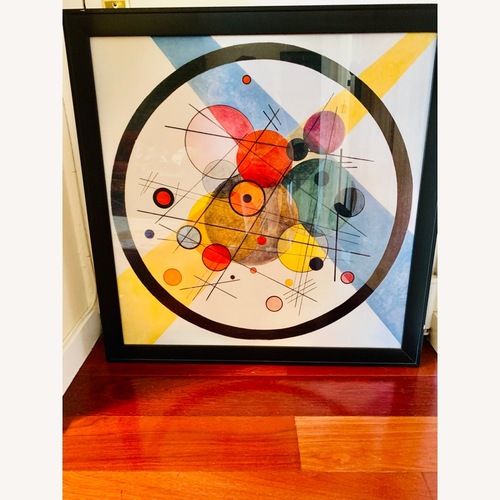 Used Framed Abstract Wall Art for sale on AptDeco