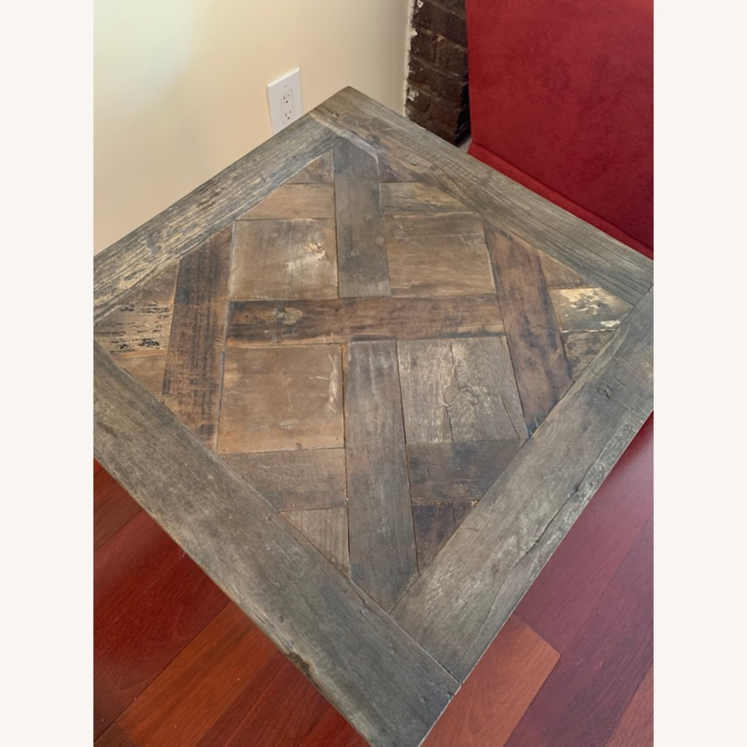 Pottery Barn Parquet End Table - image-3