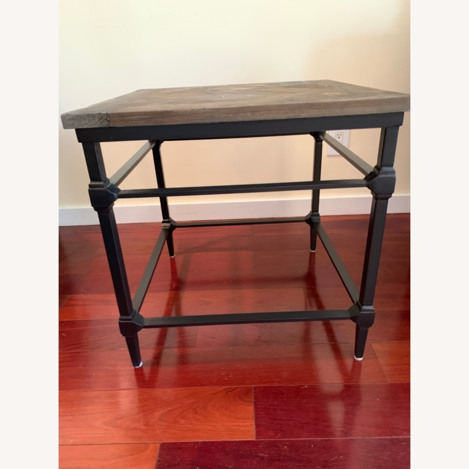 Pottery Barn Parquet End Table - image-4
