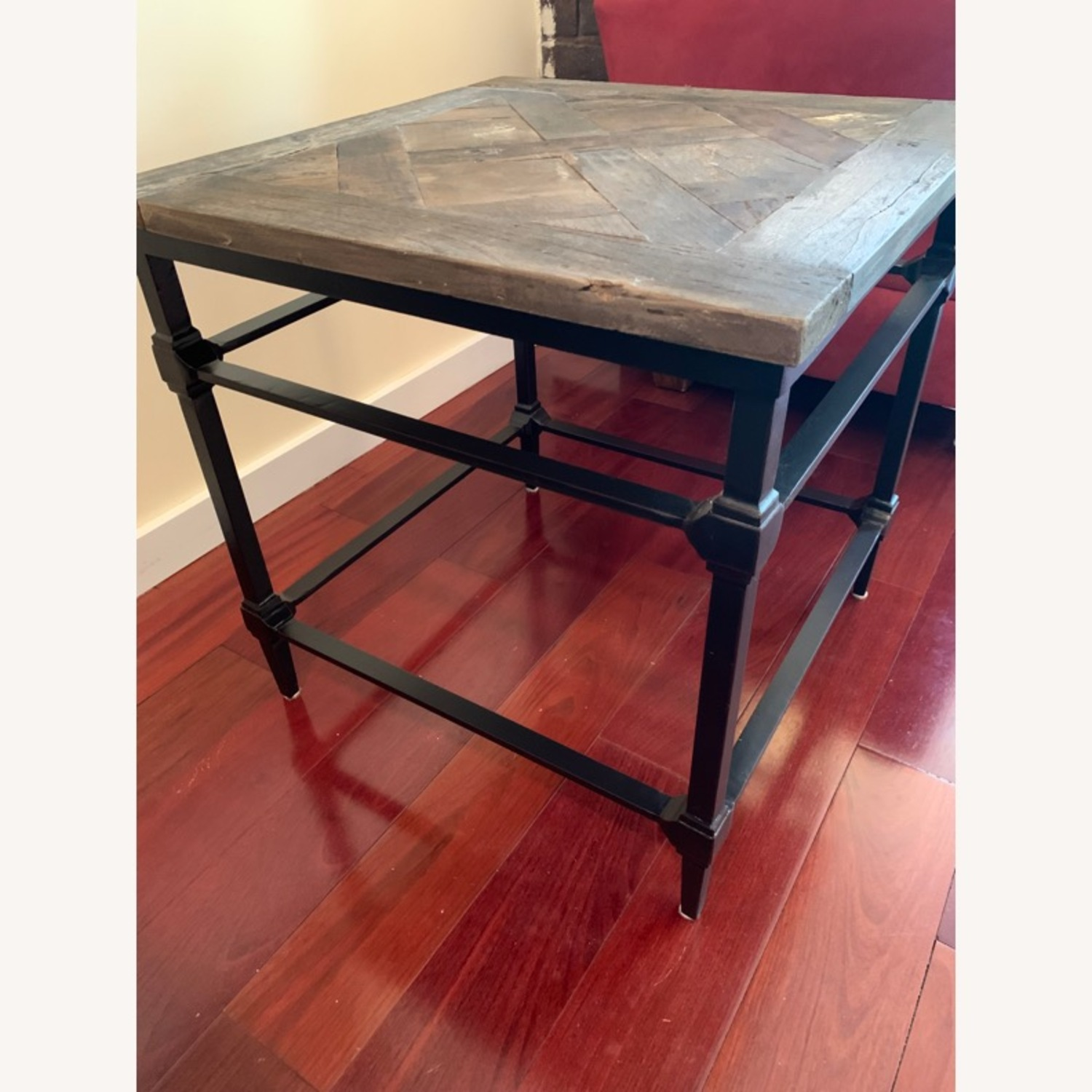 Pottery Barn Parquet End Table - image-2