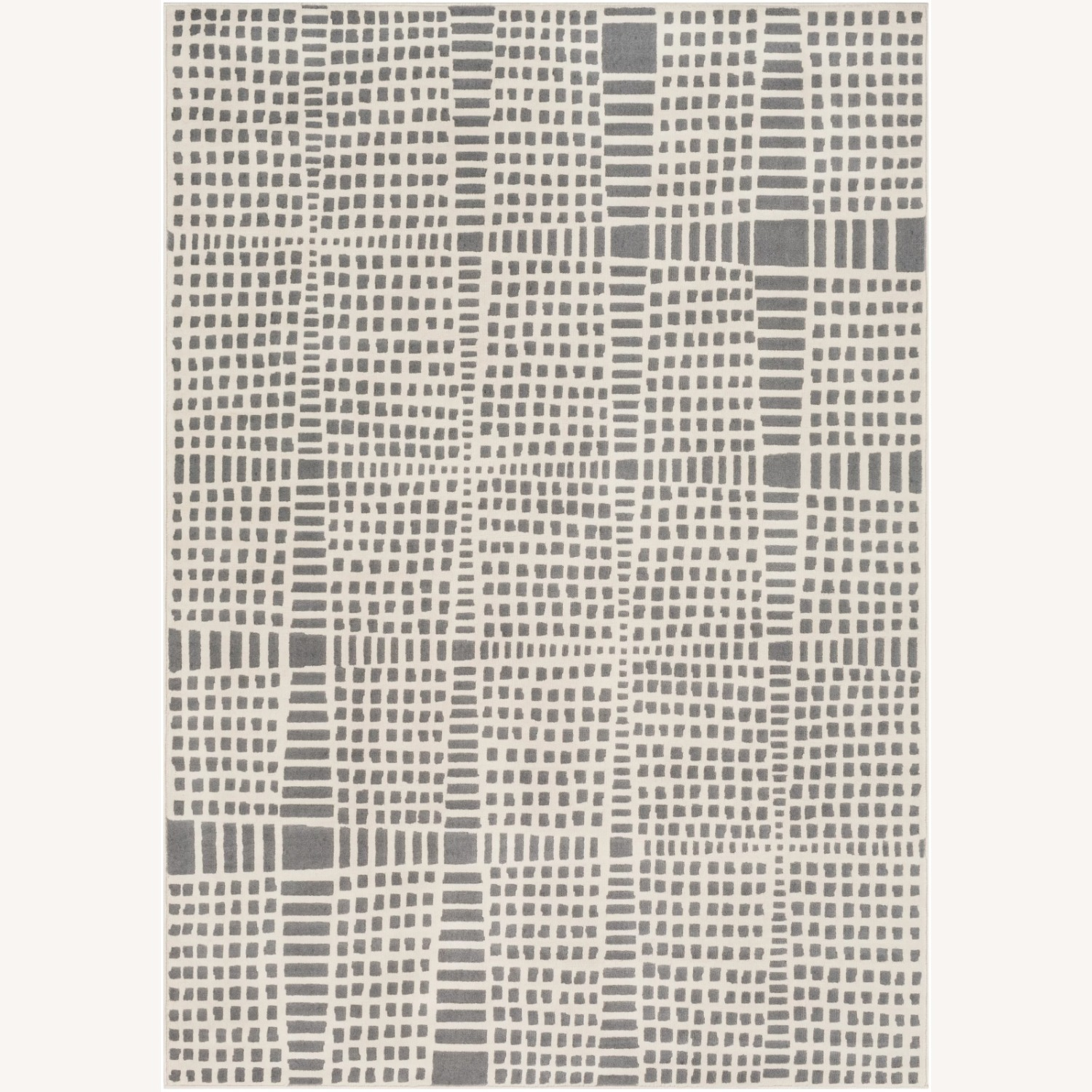 Joss & Main Beige and Grey Abstract Area Rug - image-1