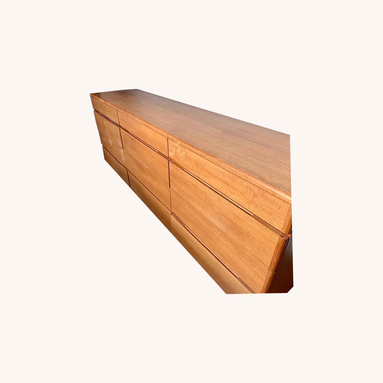 Teak Veneer Dresser - image-0