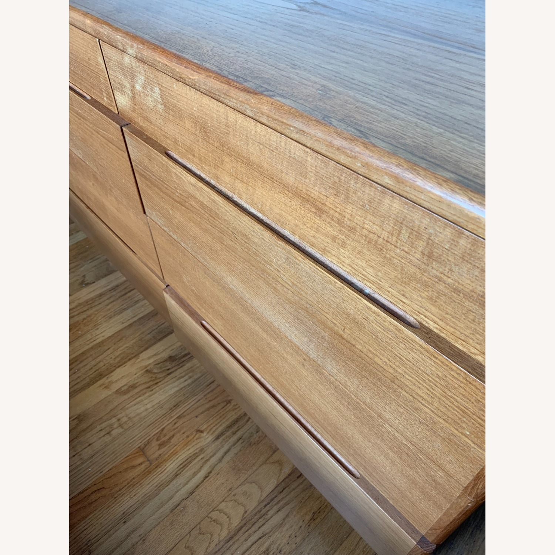 Teak Veneer Dresser - image-6