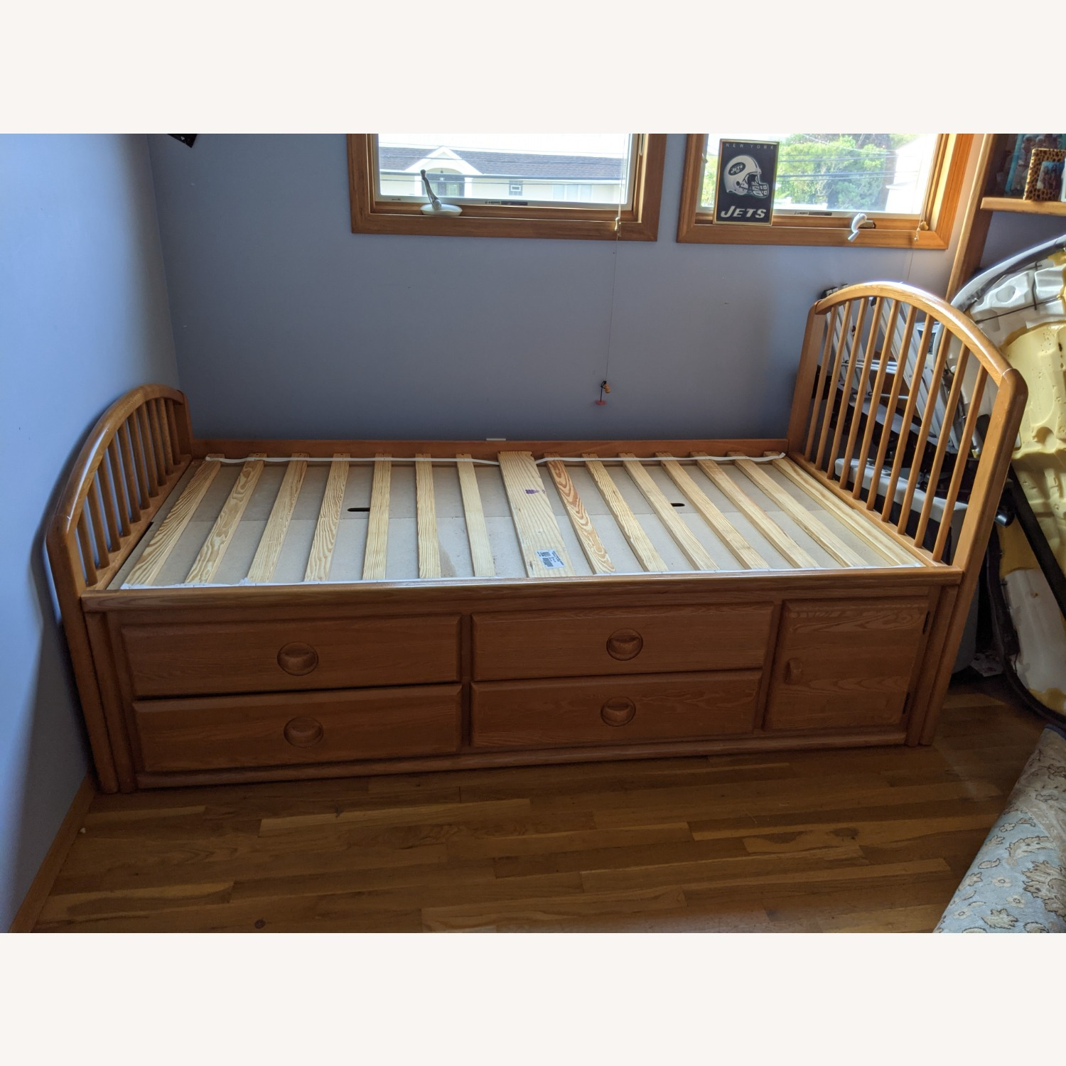 Stanley Furniture Twin Captain's Bed with Drawer Storage - image-2